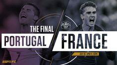 EURO 2016 finals : Ronaldo V Greizmann; Real Madrid V Atletico Madrid. who will become the Champion come Sunday?