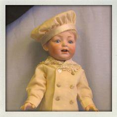 Boy bisque doll - precious!