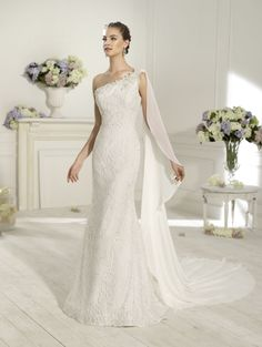 """Dublin"" #WeddingDress by Novia D'Art, 2014 Collections. www.noviadart.com"