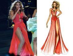 Beyonce in Alon Livne during her Mrs. Carter Tour #inspiration #beyonce #mrscarter #music #love #fashion