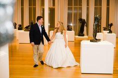 NCMA Wedding - Southern Bride & Groom Southern Bride, Outdoor Sculpture, Bride Groom, Waiting, Dream Wedding, Museum, Weddings, Wedding Dresses, Modern