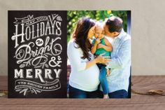Check this website out! Great holiday card designs from Minted.com!