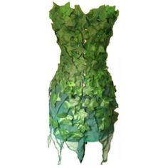 Poison Ivy Costume ❤ liked on Polyvore featuring costumes, dresses, costume…