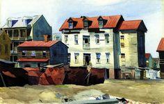 Charleston ~ Painting by Edward Hopper Manet, Edouard Vuillard, American Realism, American Artists, David Hockney, Paul Klee, Robert Rauschenberg, Toulouse, Home