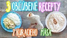 3 obľúbené recepty z kuracieho mäsa Grains, Rice, Youtube, Food, Meal, Essen, Laughter, Youtubers, Korn