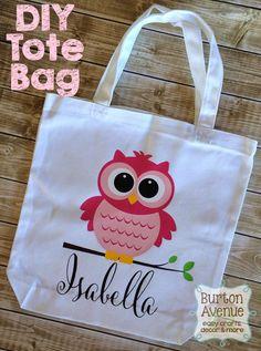 Burton Avenue: DIY Custom Tote Bag