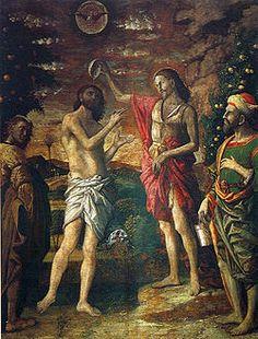Battesimo di Cristo Andrea Mantegna    1506