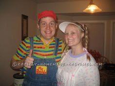 Original My Buddy and Kid Sister Couples Costumes ... 2014 Halloween Costume Contest