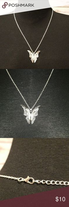 BUTTERYFLY NECKLACE FASHION JEWELRY NECKLACE FASHION jewelry. unbranded Jewelry Necklaces
