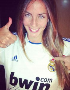 Álvaro Morata´s sister... that's why so many men are a huge fan of Morata.. I want her for my sister in law