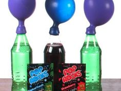 What will the Pop Rocks do when combined with the soda? #STEM