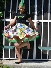 pussycoat   Galerie Ballet Skirt, Floral, Skirts, Hair, Clothes, Fashion, Outfits, Moda, Kleding