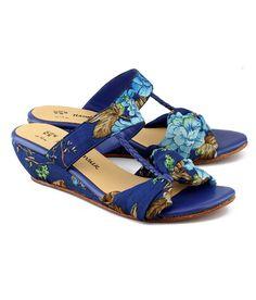 75a541207ec Purple genuine leather footwear. Womens Slippers ...