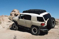 All Pro Roof Rack Awesome look and would love one, but no longer being made. Fj Cruiser Mods, Fj Cruiser Forum, Toyota Fj Cruiser, Voodoo Blue, All Pro, Trd, Roof Rack, Offroad, Automobile