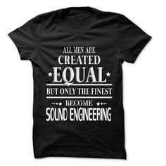(Tshirt Coupon Today) Men Are Sound Engineering Rock Time 999 Cool Job Shirt [Tshirt design] Hoodies, Tee Shirts
