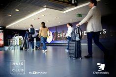 Alto impacto visual Aeropuerto El Dorado - Campaña HAIG CLUB - Efectimedios Innovation, Club, International Airport