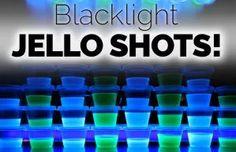 Blacklight Jello Shots Recipe