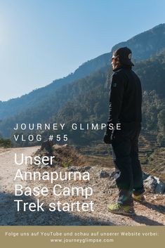 In Nepal muss man einfach trekken gehen. Das dachten auch wir uns uns machen uns auf zum Annapurna Basecamp Trek. Himalaya, wir kommen! Nepal, Journey, Youtube, Mountains, Nature, Movies, Movie Posters, Travel, Simple