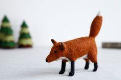 Nadelfilz Fox Kit  Craft DIY Kit von MakerMagpie auf Etsy