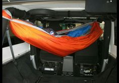 Brookie- here's you a hammock to match your Jeep!!