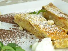 Jablková štrúdľa, recept s názvom - Jablková štrúdľa. Recept je zaradený do kategórie Ovocné múčniky, Múčniky a dezerty