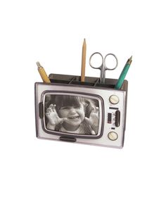 Retro TV Photo Frame Sweet Little Things, Shops, Tv Sets, Desk Tidy, Moving House, Stationery, Gift Wrapping, Retro, Crafts
