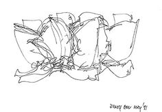 The sketches of Frank O. Gehry's architecture in arcspace Architect's Studio.