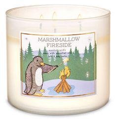 White Barn Bath and Body Works Marshmallow Fireside - 3 Wick Candle (2019)>>> Click image to review more details. (This is an affiliate link) #jarcandles