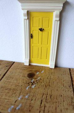 My Fairy Door Feen Tür Gelb The Magic Door Store | Heldenkind