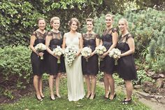 HOME   WEDDINGS   INSPIRATION   STYLE   DIRECTORY   BOUTIQUE   NEWS Bridesmaids  Perfect Little (and Long) Black Bridesmaids Dresses  *See the new 2014 roundup of 30 Beautiful Little (and Long) Black Dresses Perfect For Bridesmaids HERE*  The search for the perfect bridesmaids dress it seems can often be even more of a challenge than finding THE wedding dress. Finding a style that is both affordable and fashionable, cute and wearable, plus of course liked by both bridesmaids and bride…