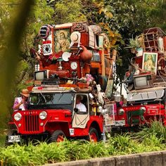 """In, fact, every' year in the small towns where coffee farming is an integral part of life, there is a folkloric parade called """"Yipao"""", honoring the Willy Jeep which has become a beloved symbol of the coffee growers culture."""