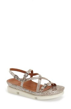 Buy L'AMOUR DES PIEDS 'Verdun' Crisscross Sandal for shopping. New L'AMOUR DES PIEDS Shoes. [$204.95] SKU GJMN30275PRLH15669