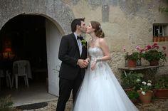 My fairytale wedding in France! http://tomorrowsomewhere.blogspot.com/2013/11/a-tale-of-two-weddings.html