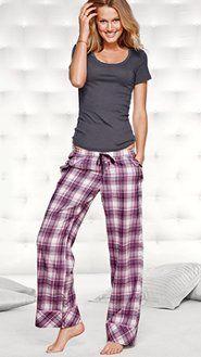 Women's Pajamas: Flannel, Cotton, Silk, Cami Pajamas & Boyshort ...