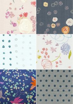 i want to make something with these sweet fabrics