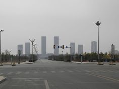 Ordos Kangbashi, the Mongolian area city that put China ghost cities on the map. (Photo by Wade Shepard)