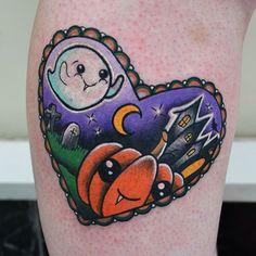 Halloween! #tattoo #tattoos #tatuaje #tattooed #girlswithtattoos #tattooing…