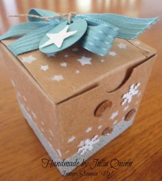 handmade by Julia Quinn - Independent Stampin' Up! Demonstrator: Tiny Treat Boxes