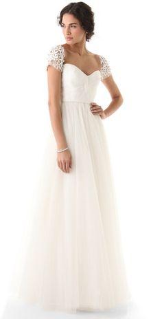 Reem Acra I Am Beautiful Dress
