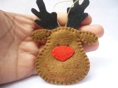 Felt Ornament (*or cute addition to the wrapping)