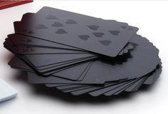 Monochromatic playing cards WHAAAAAH?