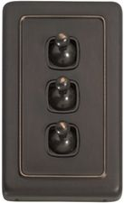 3 Gang Toggle Switch 5914 AC, Switches & Dimmers