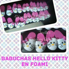 Babuchas Hello Kitty en Foami