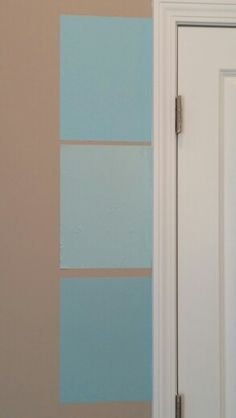 From top to bottom: Glidden Topical Lagoon, Behr Malaysian Mist, for Autumn's room? (Similar to Lagoon Green Glidden) Blue Accent Walls, Beige Walls, Blue Accents, Beige Bathroom, Bathroom Colors, Small Bathroom, Master Bathroom, Bathroom Ideas, Indoor Paint