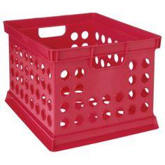 Room Essentials™ Milk Crate - Brilliant Coral