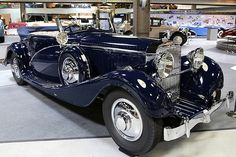 Hispano-Suiza J12 Cabriolet Vanvooren s-n 14004 1935 1