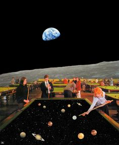 Cosmic Games Art Print by Irie Wata - X-Small Ps Wallpaper, Trippy Wallpaper, Aesthetic Iphone Wallpaper, Aesthetic Wallpapers, Surreal Collage, Surreal Art, Collage Art, Collages, Photocollage
