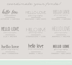 Font Combos for your Logo Design