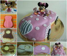 Minnie Mouse Car Cake Tutorial!