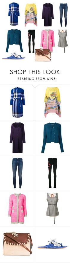 """""""womens fashion"""" by kristen-stewart-2989 ❤ liked on Polyvore featuring Burberry, Emilio Pucci, Ralph Lauren, Maison Margiela, 7 For All Mankind, Gucci, 20.52, N°21, Amélie Pichard and Figue"""